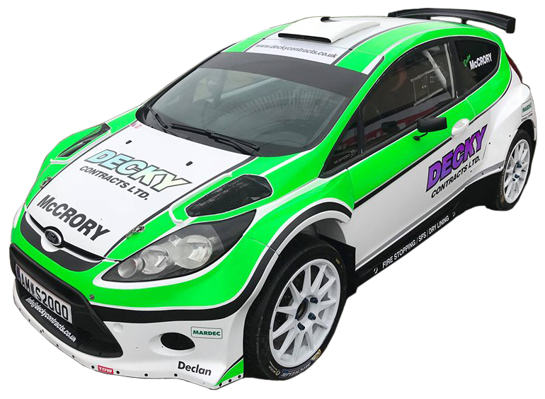 Rally Car Vehicle Graphics